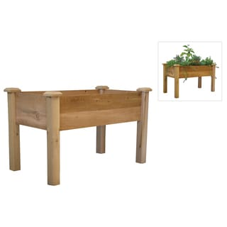 Raised planter box free shipping today 15397421 Keter easy grow elevated flower garden planter