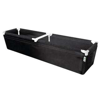Geopot PL72X16X14 72-Inches L X 16-Inches W X 14-Inches H Raised Planter Bed
