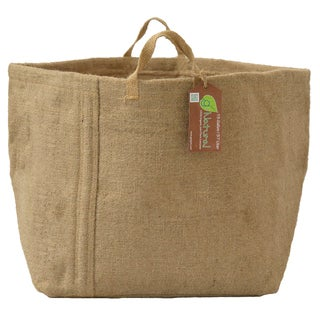Geopot GNAT15GAL-HN 15 Gal Organic Jute Plant Container