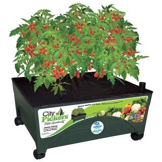 Emsco Group 2340 3-Foot X 3-Foot City Pickers Indoor Patio Grow Box Garden