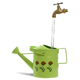 Universal Home and Garden SPL11 Fantasy Fountains Small Lime Watering Can Fountain