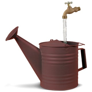 Universal Home and Garden NR-3 Fantasy Fountains New Rust Watering Can Fountain