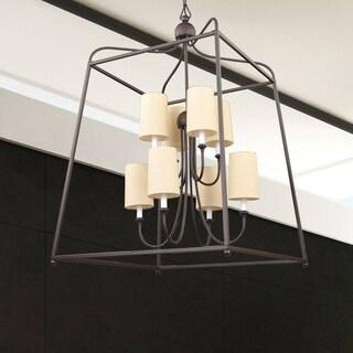 Crystorama Libby Langdon Sylvan Collection 8-light Dark Bronze Chandelier