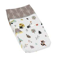 Sweet Jojo Designs Night Owl Print Fitted Crib Sheet