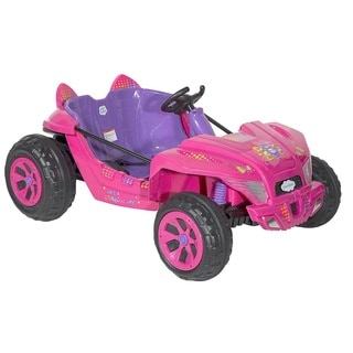 Dynacraft Care Bears Pink 12-volt Dune Buggy