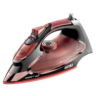 Eureka Razor Powerful Steam Burst Super Hot 1500-watt Iron with Marsala Pouch Included