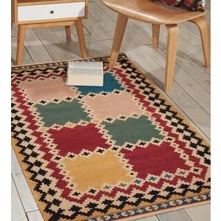 Nourison Kilim Multicolor Area Rug (3' x 5')