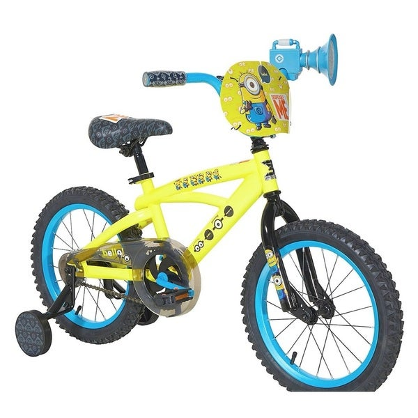 Dynacraft Minions Yellow Steel 16-inch Bicycle