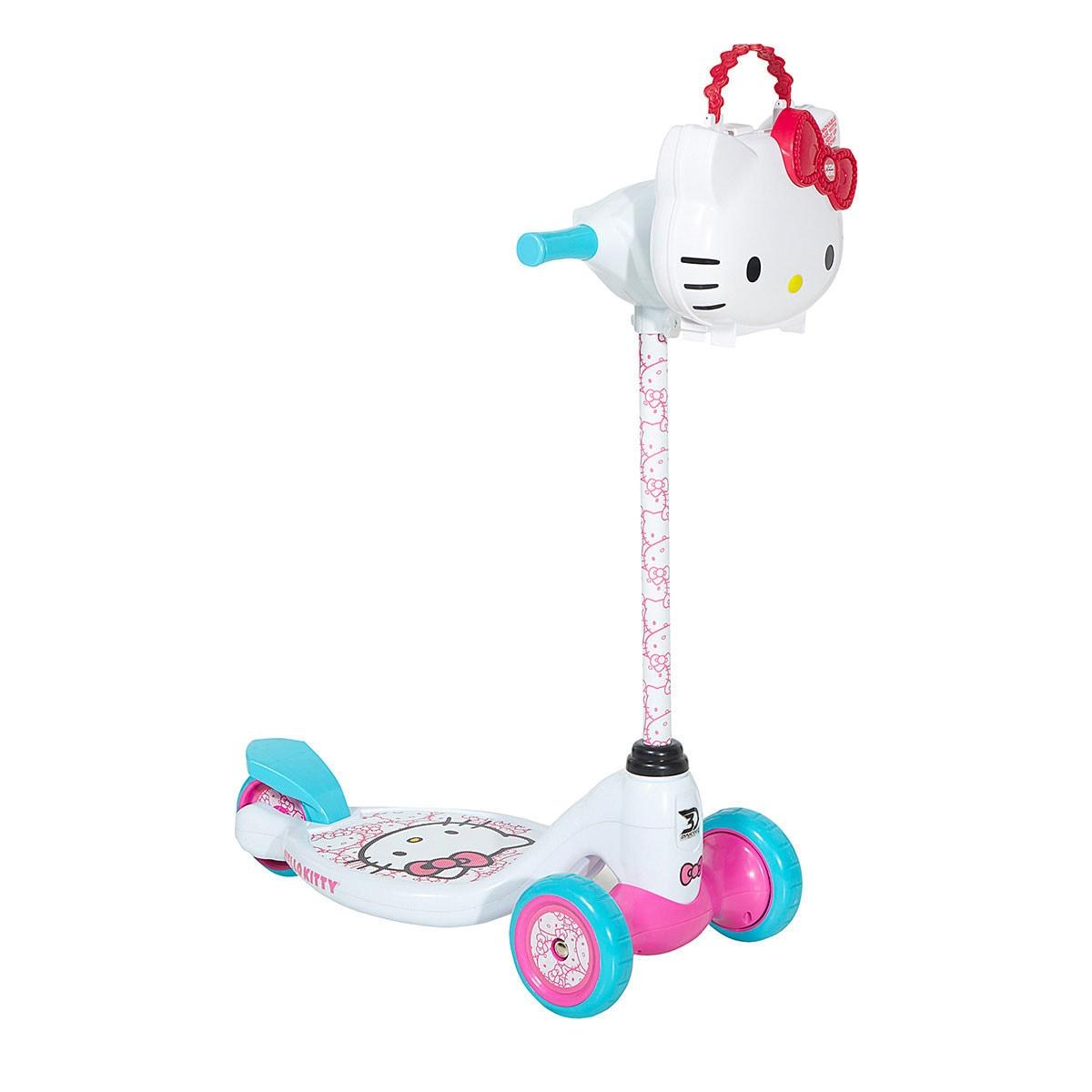 Dynacraft Hello Kitty 3-wheel Scooter, White