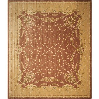 Nourison Chalet Coffee Area Rug (5'3 x 7'9)