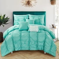 Oliver & James Candice Turquoise 10-piece Bed in a Bag Set