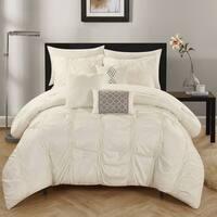 Chic Home 10-Piece Luna Beige  Bed in a Bag Comforter Set