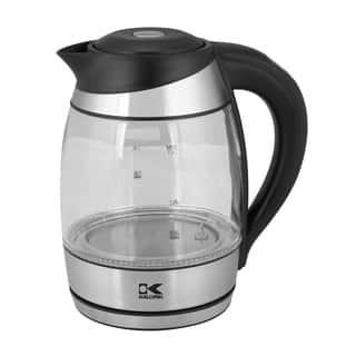 Kalorik Glass Color-changing LED Digital Water Kettle|https://ak1.ostkcdn.com/images/products/12383717/P19206665.jpg?impolicy=medium