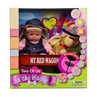Kid Concepts Plastic Baby Doll With Wagon Playset|https://ak1.ostkcdn.com/images/products/12384033/P19206684.jpg?impolicy=medium