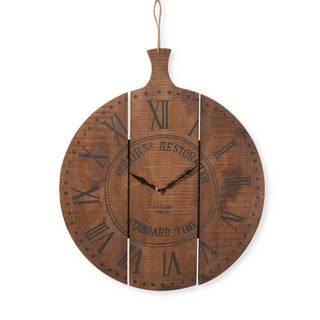 Brimfield Wood Wall Clock