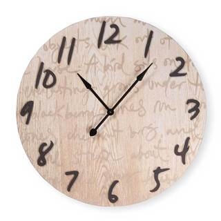 Script Wall Clock XL