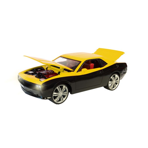 Playday Yellow/Black 1/16 Scale Ultimates Dodge Challenger