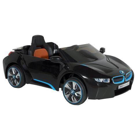 Dynacraft BMW I8 Concept 6-volt Electric Ride-on Car - Black