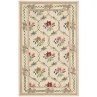 Nourison Lattice Cream Area Rug (5' x 8') - 5' x 8'