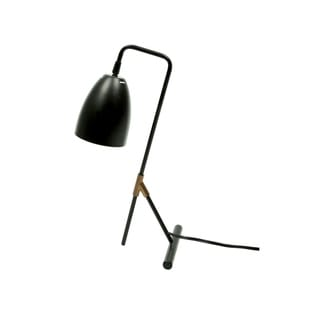 "Link to Euro Style Collection Copenhagen 18"" Modern Table Lamp-Black Similar Items in Desk Lamps"