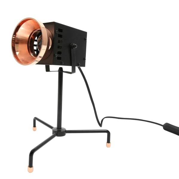 Euro Style Collection Cannes Metal Body Cinema Design Lamp