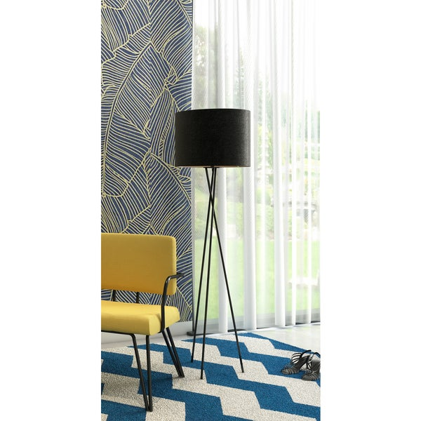 Euro Style Collection Lisboa 63-inch Tripod Floor Lamp