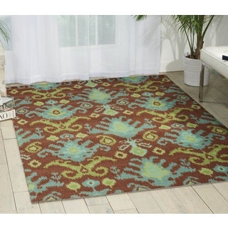 Nourison Mirage Chocolate Area Rug (5' x 7')