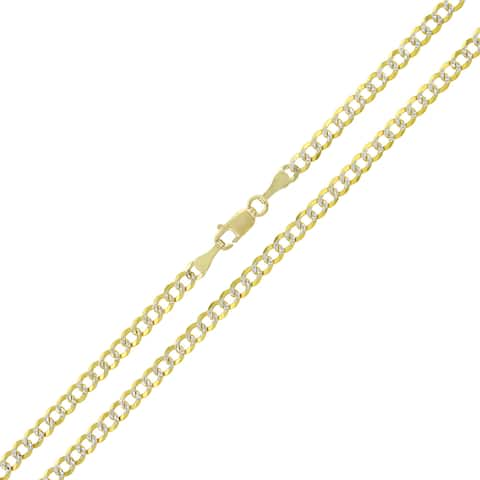 72e749c64eaae Buy 20 Inch, Two-Tone Gold Chains & Necklaces Online at Overstock ...