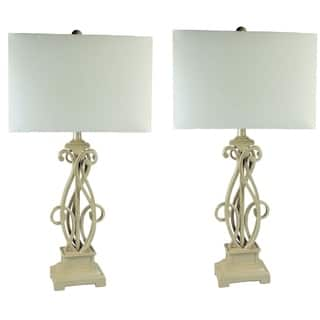 JT Lighting Contemporary Scroll Metal Table Lamps (Set of 2)|https://ak1.ostkcdn.com/images/products/12384149/P19206770.jpg?impolicy=medium