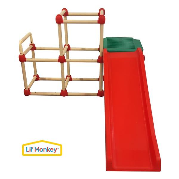 Lil' Monkey Climb N' Slide Olympic Playset