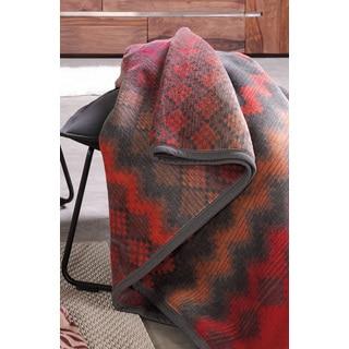 Sorrento Vintage Zigzag Oversized Throw Blanket