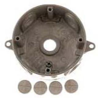 Bell Outdoor 5361-7 4-inch Bronze Round Weatherproof Boxes
