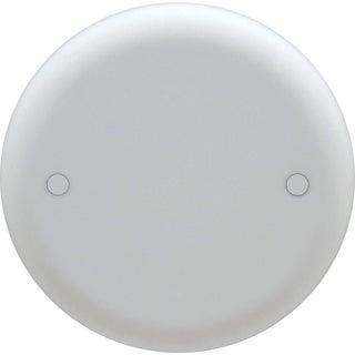 Carlon Lamson & Sessons CPC4WH White Round Blank Ceiling Cover