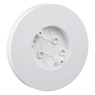 "Thomas & Betts 5080-WH 6-1/2"" White Round Box With Flat Screw"