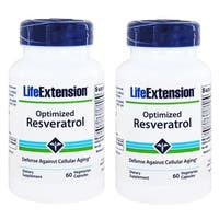 Life Extension Optimized Reservatrol