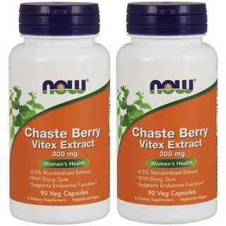 Now Foods Chaste Berry Vitex Extract 300mg