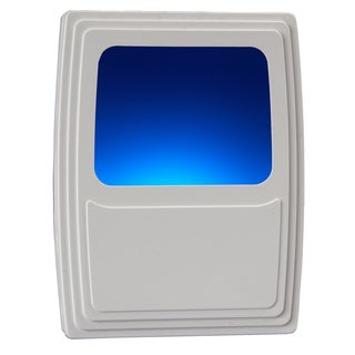 Amertac 71282 3-5/8 x 2¾ x 1-1/8 Cool Blue Plug-In Night Light