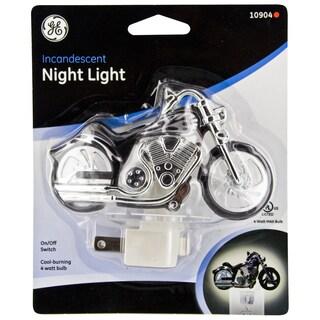 GE Jasco 10904 Incandescent Motorcycle Night Light