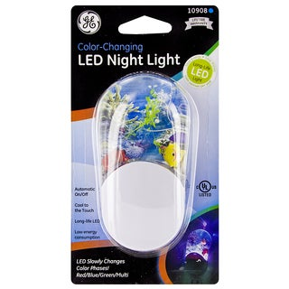 GE Jasco 10908 Color Changing LED Night Light