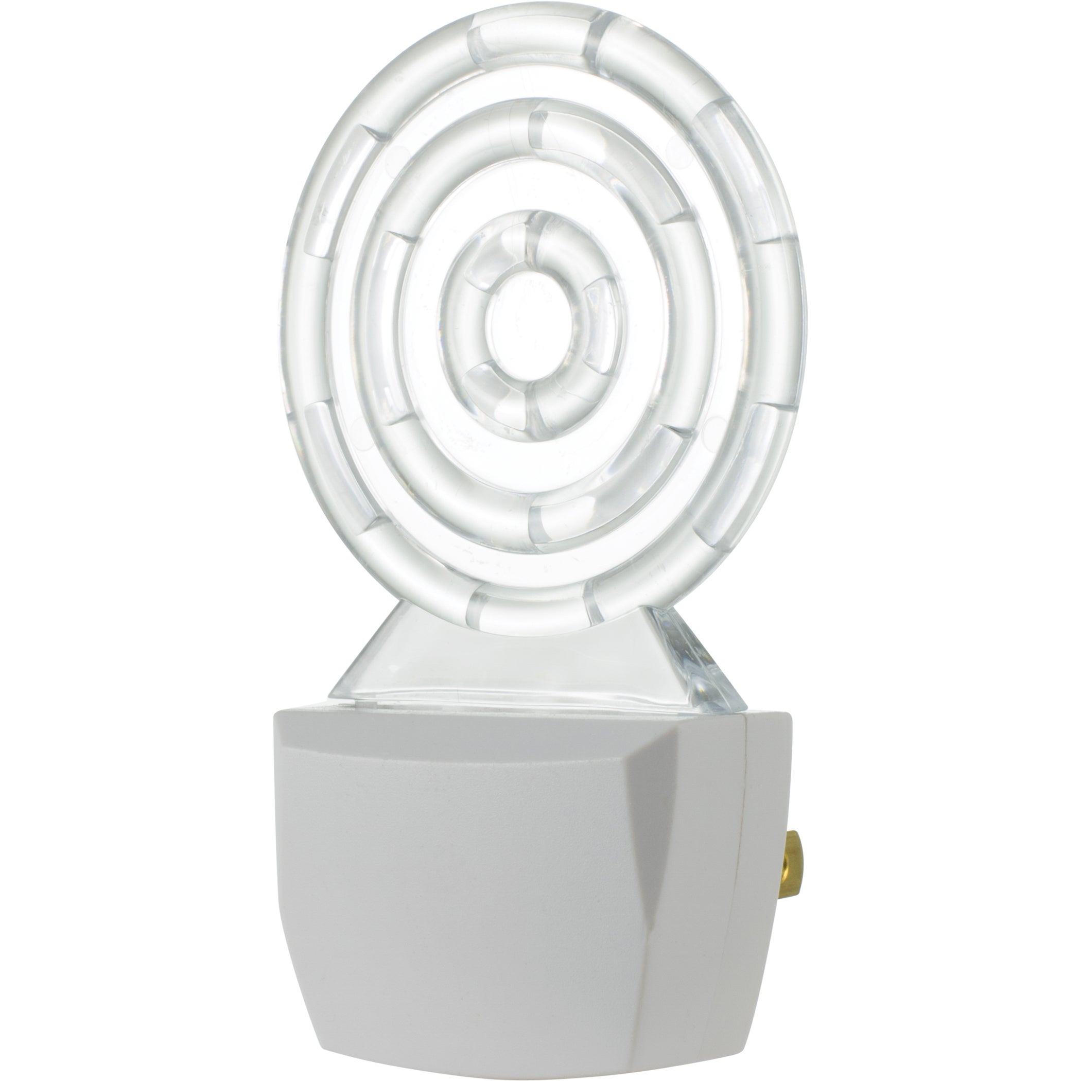 GE Jasco 10934 Blue LED Night Light (Lights), White (Glass)