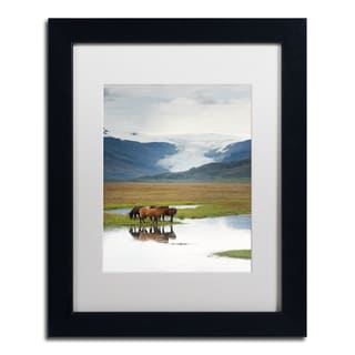 Philippe Sainte-Laudy 'The Meeting Point' Matted Framed Art