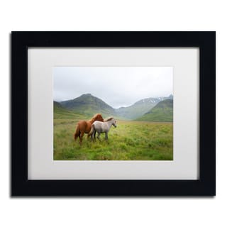 Philippe Sainte-Laudy 'Running Up That Hill' Matted Framed Art