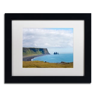 Philippe Sainte-Laudy 'Reynisfjara Beach' Matted Framed Art