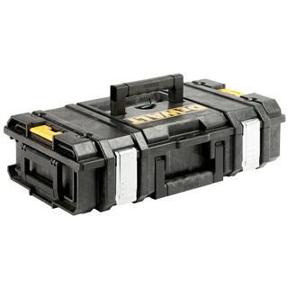 DeWalt DWST08201 Small Tough System Case https://ak1.ostkcdn.com/images/products/12384619/P19207151.jpg?impolicy=medium