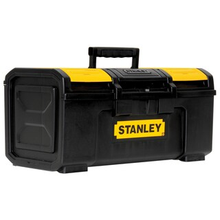 "Stanley Hand Tools STST19410 19"" Black & Yellow Auto Latch Tool Box"