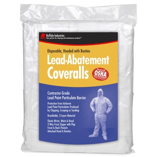Buffalo 68443 Extra Extra Large Disposable Lead Abatement Coveralls