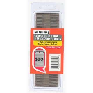 Allway Tools SEB100VP 100-count Single Edge Razor Blades