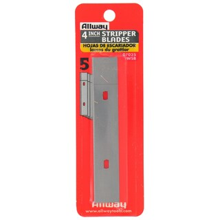 Allway Tools WSB 5-count Universal Stripper Blade