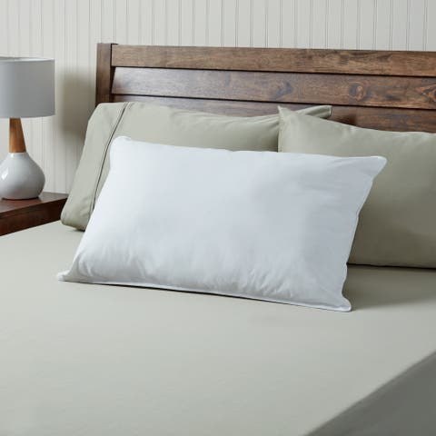 MicroLoft Gel Polyester Hotel Pillow - White