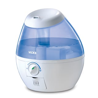 Vicks VUL520W 1/2 Gallon Vicks Cool Mist Filter-Free Mini Humidifier
